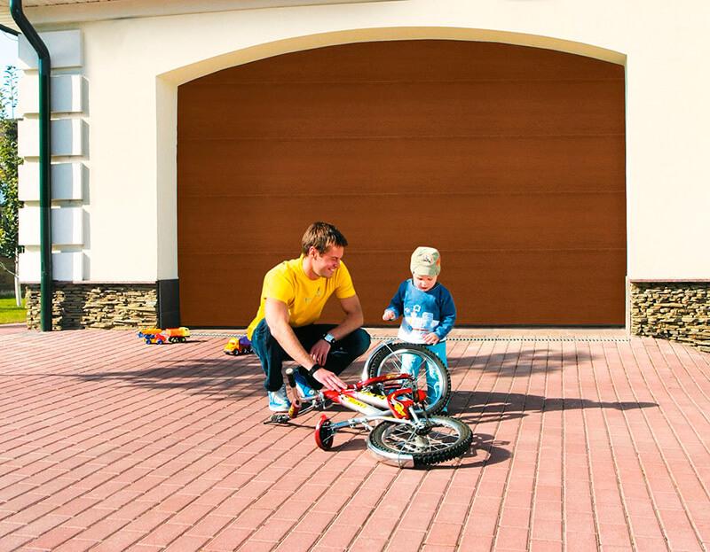 Ваш выбор определяют технические возможности гаража.